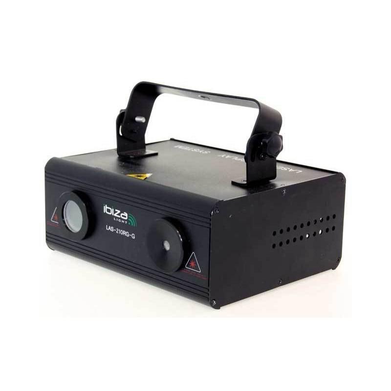 location Laser rouge et vert dmx 150 avec effet firefly et gobos graphiques Vannes