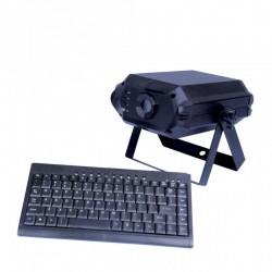 Location Laser Text RGB - Laser à écriture avec clavier Vannes