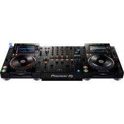 location Pack Pioneer Nexus2 - 2 CDj2000 Nexus2 + DJM900 Nexus2 - Location Vannes
