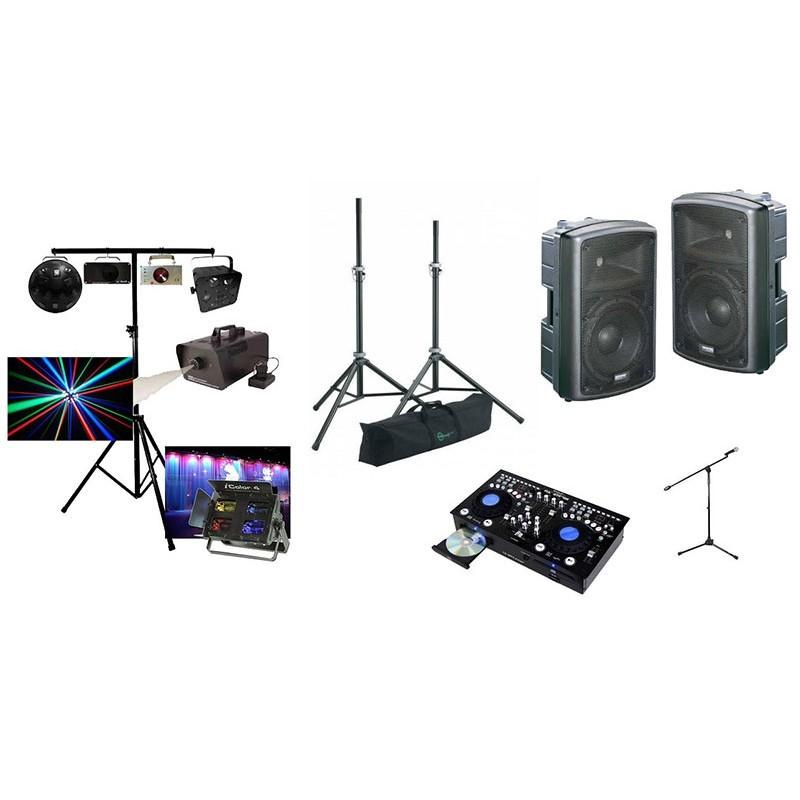 location Studio régie 700w + Pack light2 - ensemble sono + éclairage Vannes