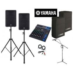 location Pack qualité Yamaha 100 personnes Vannes