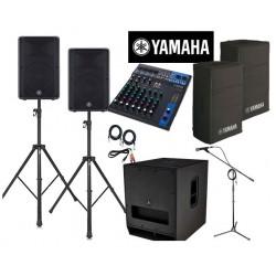 location Pack qualité Yamaha 150 personnes Vannes
