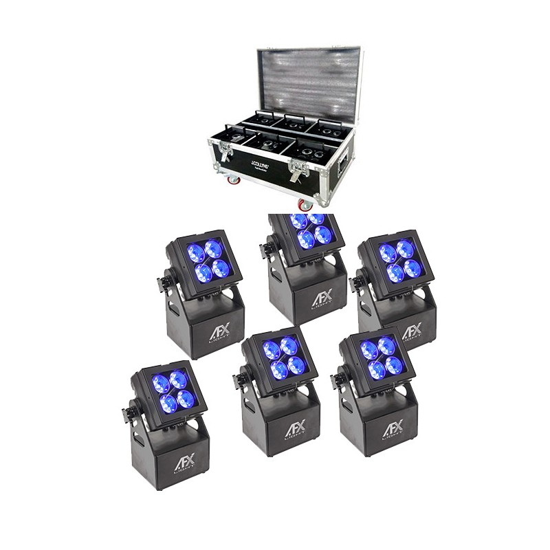 location Mobicolor4 - Projecteur architectural à led sur batterie Vannes