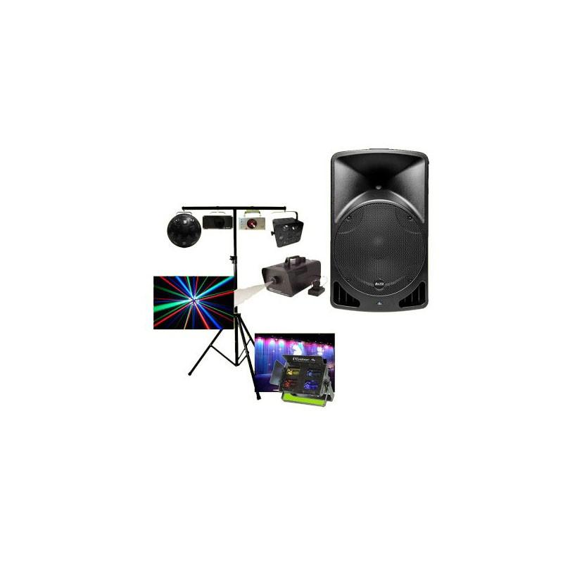 location Pack total DJ - Pack sono + éclairage Vannes