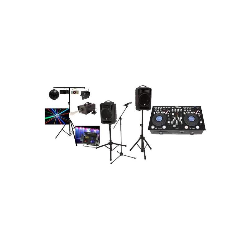 Location Studio régie 500w + Pack light 2 Vannes