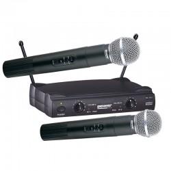 Micro HF sans fil main double